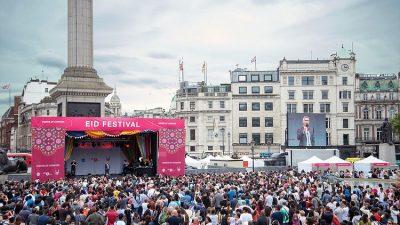 LONDRALI MÜSLÜMANLAR FESTİVALDE BULUŞTU