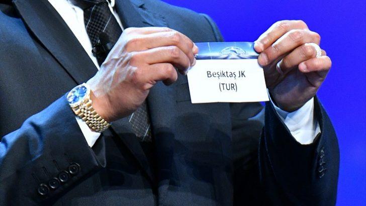 Beşiktaş'ın UEFA Şampiyonlar Ligi'ndeki rakipleri