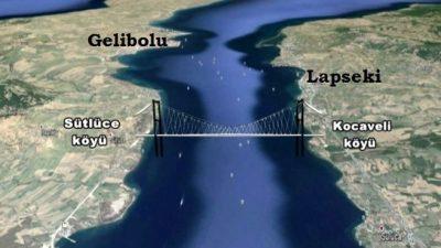 """""""1915 Çanakkale Köprüsü için YPK kararı hazırlanıyor"""""""