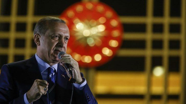 Erdoğan, Cumhurbaşkanlığı Külliyesi'nde vatandaşlara seslendi