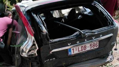 Belçika'da yaşayan aile Türkiye'de kaza yaptı: 1 ölü, 5 yaralı