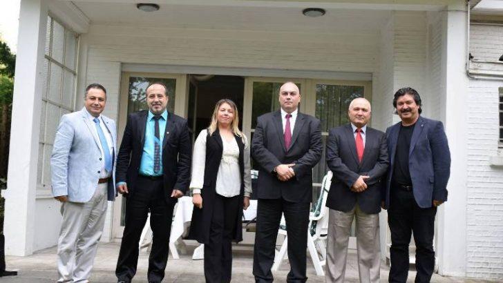 BTMB'den Başkonsolos Ergin'e ziyaret