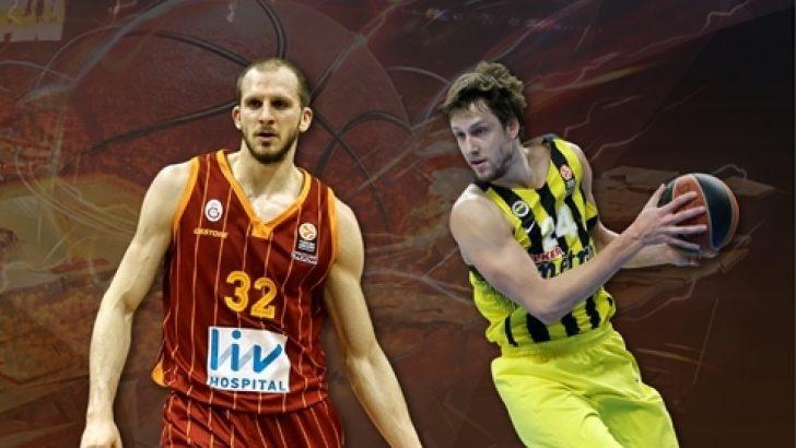 Fenerbahçe ile Galatasaray Avrupa Ligi'nde karşılaşıyor