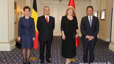 Cumhuriyet Bayramı Brüksel'de coşkuyla kutlandı