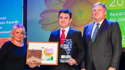 """Türk firmasına """"Avrupa Çevre Ödülü"""""""