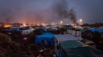 Jungle sığınmacı kampı tahli ediliyor