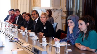 Türkiye Demokrasi Platformu Brüksel'de darbe girişimini anlattı