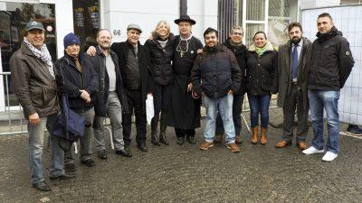 Aalst'daki barış koşusuna imamlar damga vurdu