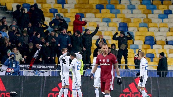 Beşiktaş, Şampiyonlar Ligi'nden elendi
