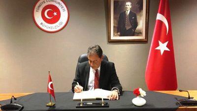 Brüksel'de İstanbul'daki saldırı için taziye defteri açıldı
