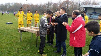 Eroğlu'nun takımı yine rakipsiz şampiyon
