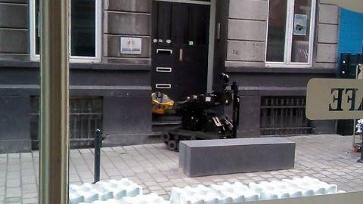 Brüksel Ülkü Ocakları'nda bomba paniği