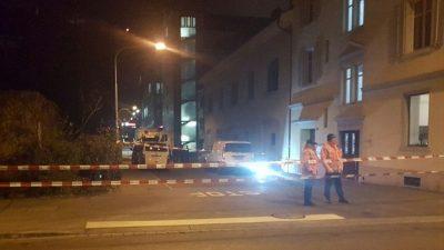 Zürih'te camide silahlı saldırı