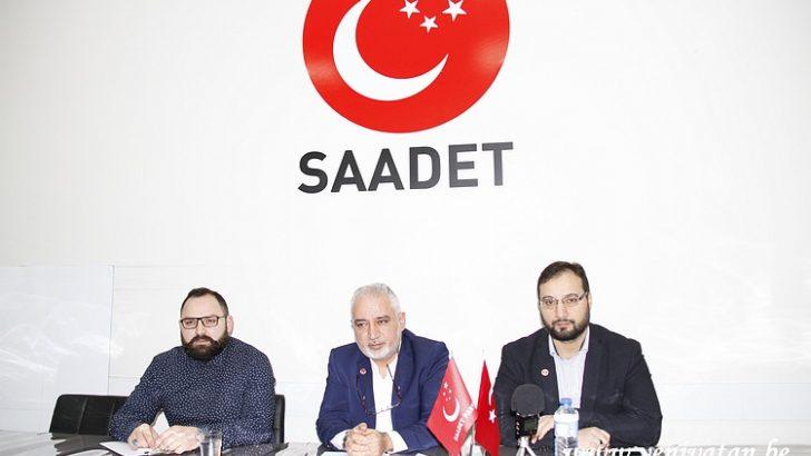Saadet Partisi Belçika, Türkiye ekonomisini değerlendirdi