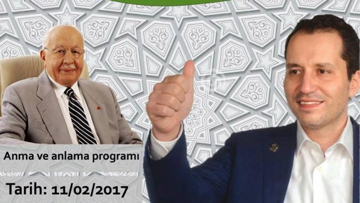 Erbakan'ı Anma ve Anlama Konferansına Davet