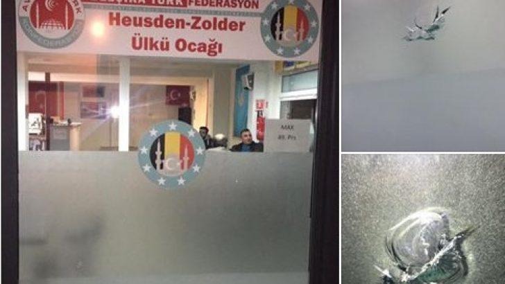 Yeni açılan Ülkü Ocağı'na provokasyon amaçlı saldırı