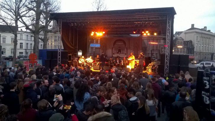 Gent'te 5. Halk Festivali organize edildi