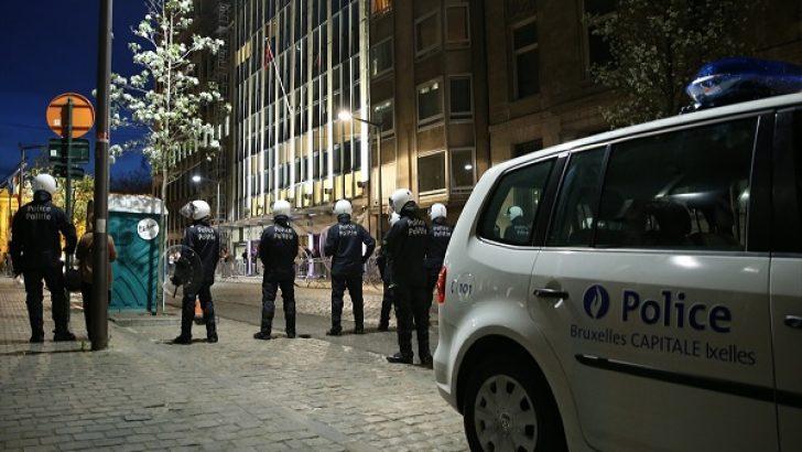 Türkiye'nin Brüksel Başkonsolosluğu önünde arbede