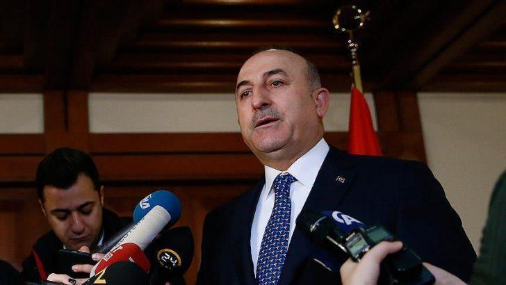 Dışişleri Bakanı Çavuşoğlu, Belçikalı Wilmes'le görüştü