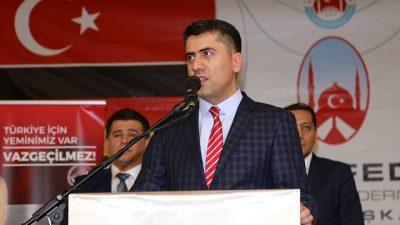 Almanya Türk Federasyonu Başkanı Doğruyol'dan ülkücülere çağrı