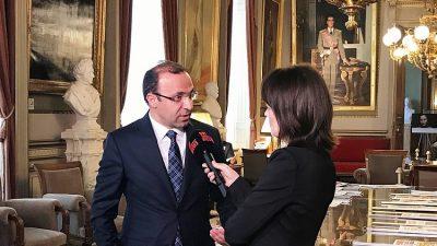 """Yüksel: """"Türk siyasiler, Belçika'da miting yapabilmelidir"""""""