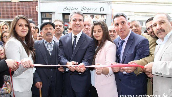 """Saint-Josse'a yeni açılan sigorta ve kredi şirketi """"Gecafin"""" oldukça iddialı"""