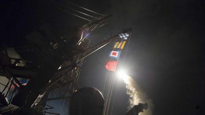 ABD'den Suriye'ye füze saldırısı