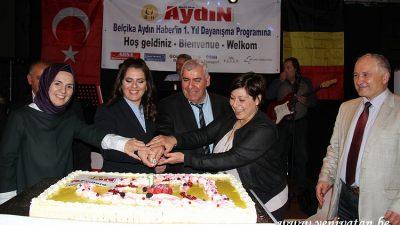 Belçika Aydın Haber 1. yılını kutladı