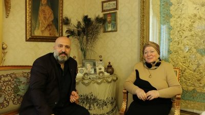 Sultan 2. Abdülhamid'in iki torunu yıllar sonra Trablus'ta buluştu
