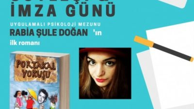 Rabia Şule Doğan, ilk romanını tanıtacak