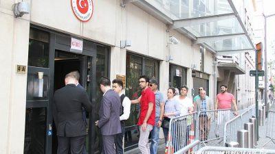 Belçika'da 81 bin 540 vatandaş oy kullandı