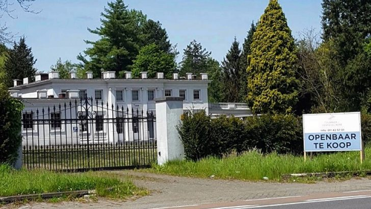 Darbecilerin Beyaz binası satılığa çıkarıldı