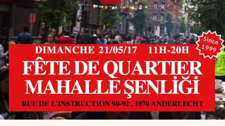 Anderlecht Mahalle Şenliği 19. kez düzenlenecek