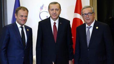 Cumhurbaşkanı Erdoğan, Brüksel'de ikili temaslarda bulundu