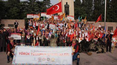 13. Uluslararası Balıkesir Yörük Türkmen Şöleni başladı