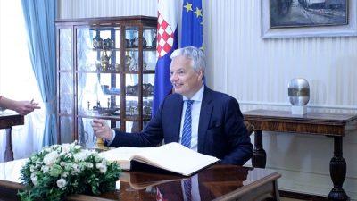 Hırvatistan ve Belçika'dan sığınmacı krizi açıklaması
