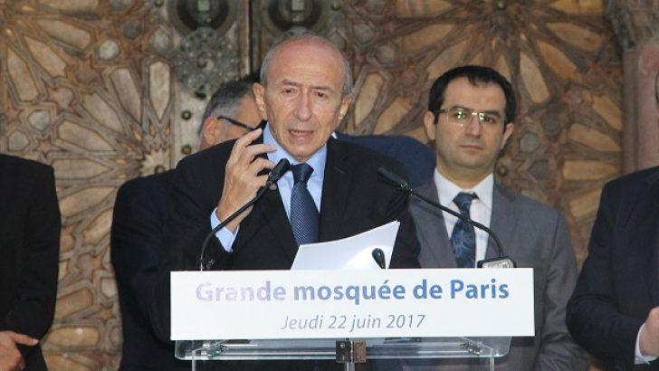 Fransa İçişleri Bakanı Collomb iftara katıldı