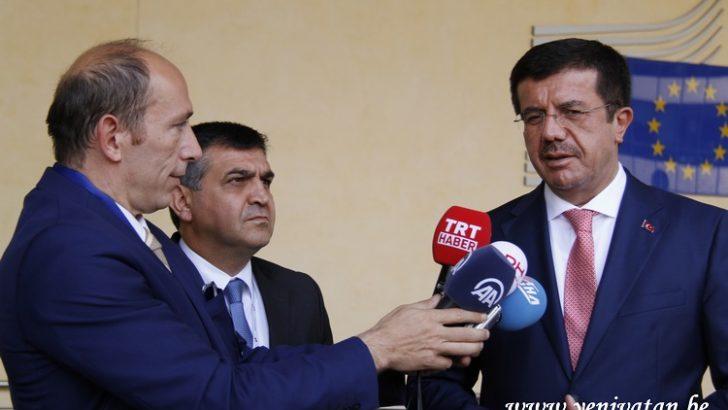 Bakan Nihat Zeybekci, Gümrük Birliği'nin yeni takvimini değerlendirdi