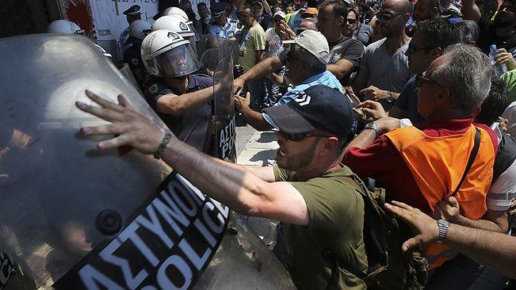 Yunanistan'da çöp krizi
