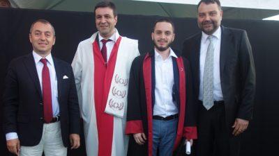 Bilgi Üniversitesi'nde mezuniyet coşkusu