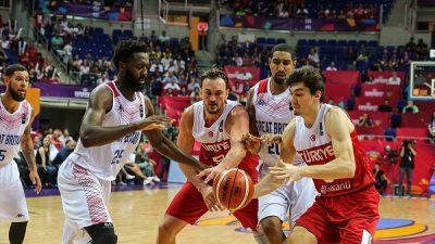 Milli Basketbol Takımı 2. maçında Büyük Britanya'yı yendi