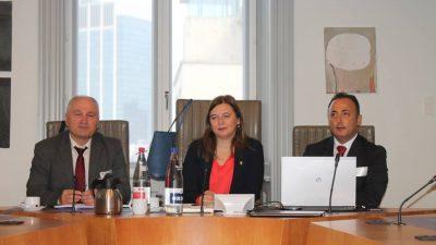 Milletvekili Güler Turan, BTMB üyelerini kabul etti