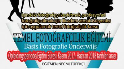 Brüksel'de fotoğraf eğitimi