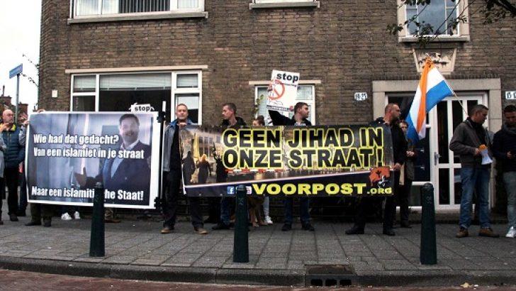 Hollanda'da İslam karşıtı gösteri