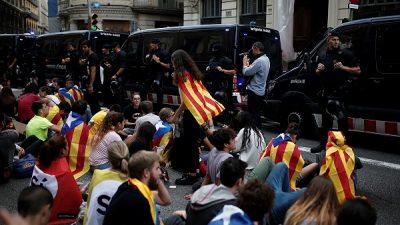 AB'de Katalonya sessizliği