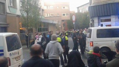 Belçika'da terör örgütü PKK provokasyonu