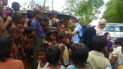 Köksal, Rohingya kamplarını inceledi