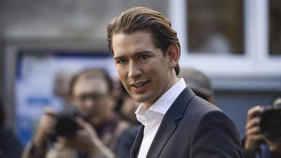 Avusturya'da sandıktan Kurz çıktı