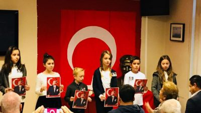 Atatürk, Anvers Başkonsolosluğu'nda anıldı