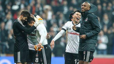 Beşiktaş, Şampiyonlar Ligi'nde ilki başardı